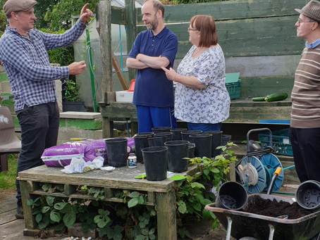 Community Allotment - Come and join us