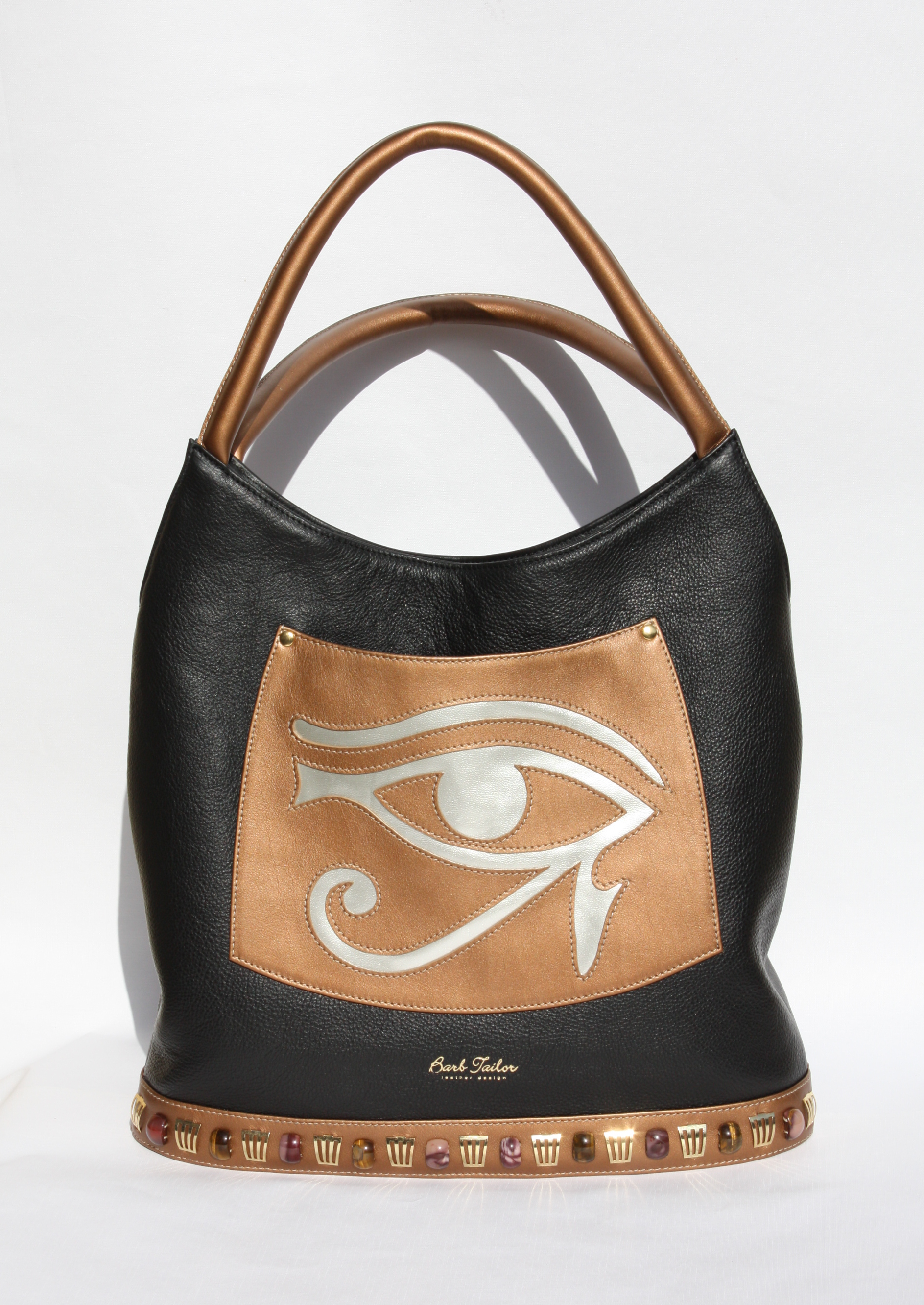Eye of Horus - black/bronze/silver