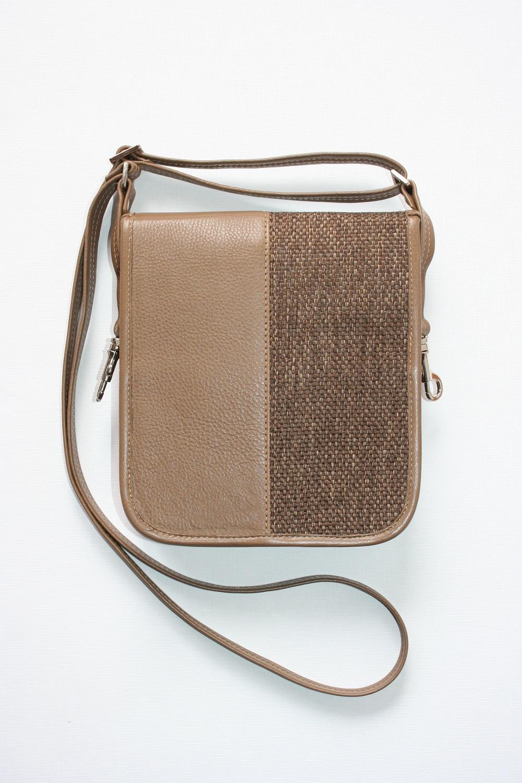 4Man shoulder bag brown back