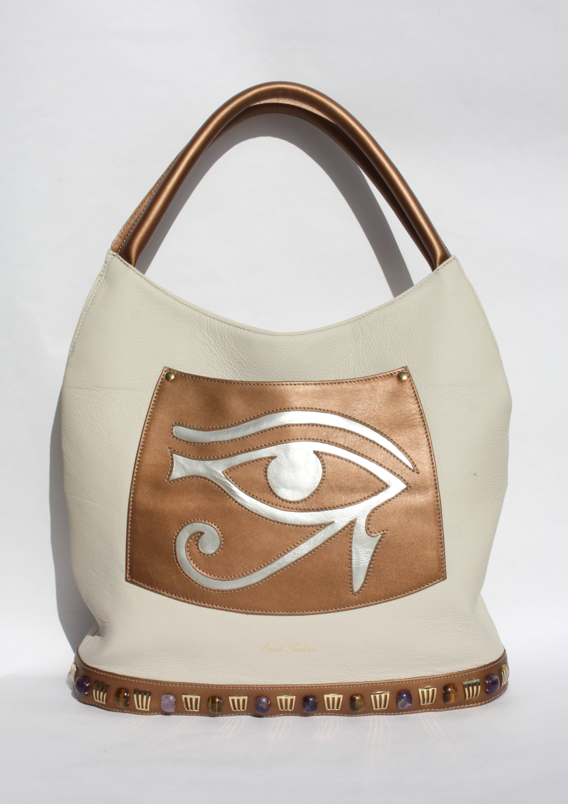Eye of Horus - Ivory/bronze/silver