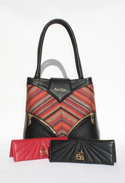 Black Sand - shoulder bag and cases