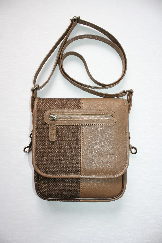 4Man shoulder bag brown