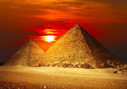 Egyiptomi naplemente