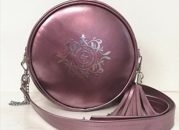 Luna round bag - nude