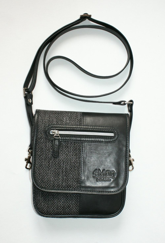 4Man shoulder bag black