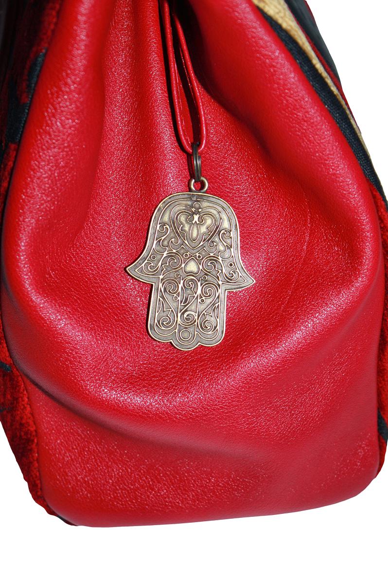Yasmine hand bag - Fatima pendant