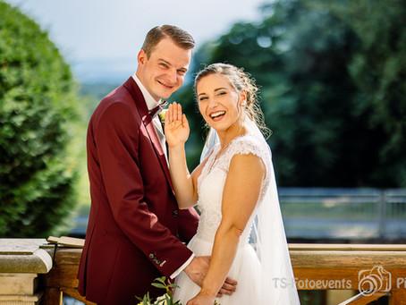 Hochzeit in geschichtlichen Gemäuern