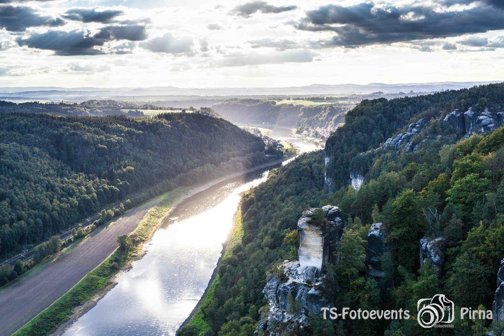 Die Elbe in der Sächsischen Schweiz
