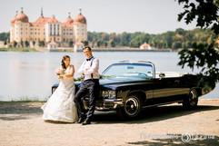 Hochzeit Brautpaarshooting in Moritzburg