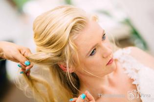 Hochzeit Vorbereitung Braut Starschnitt Pirna