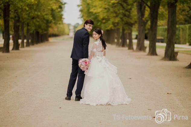 Hochzeit Schlosspark Pillnitz