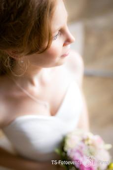 Hochzeit, Pirna -Dresden Porträt Braut