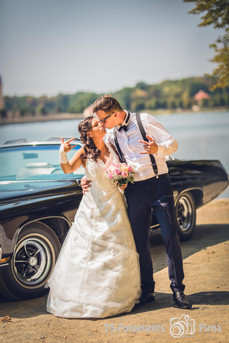 Hochzeit, Brautpaarshooting in Moritzburg