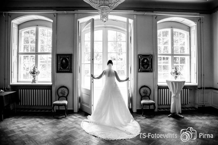 Hochzeit Barockschloss Oberlichtenau