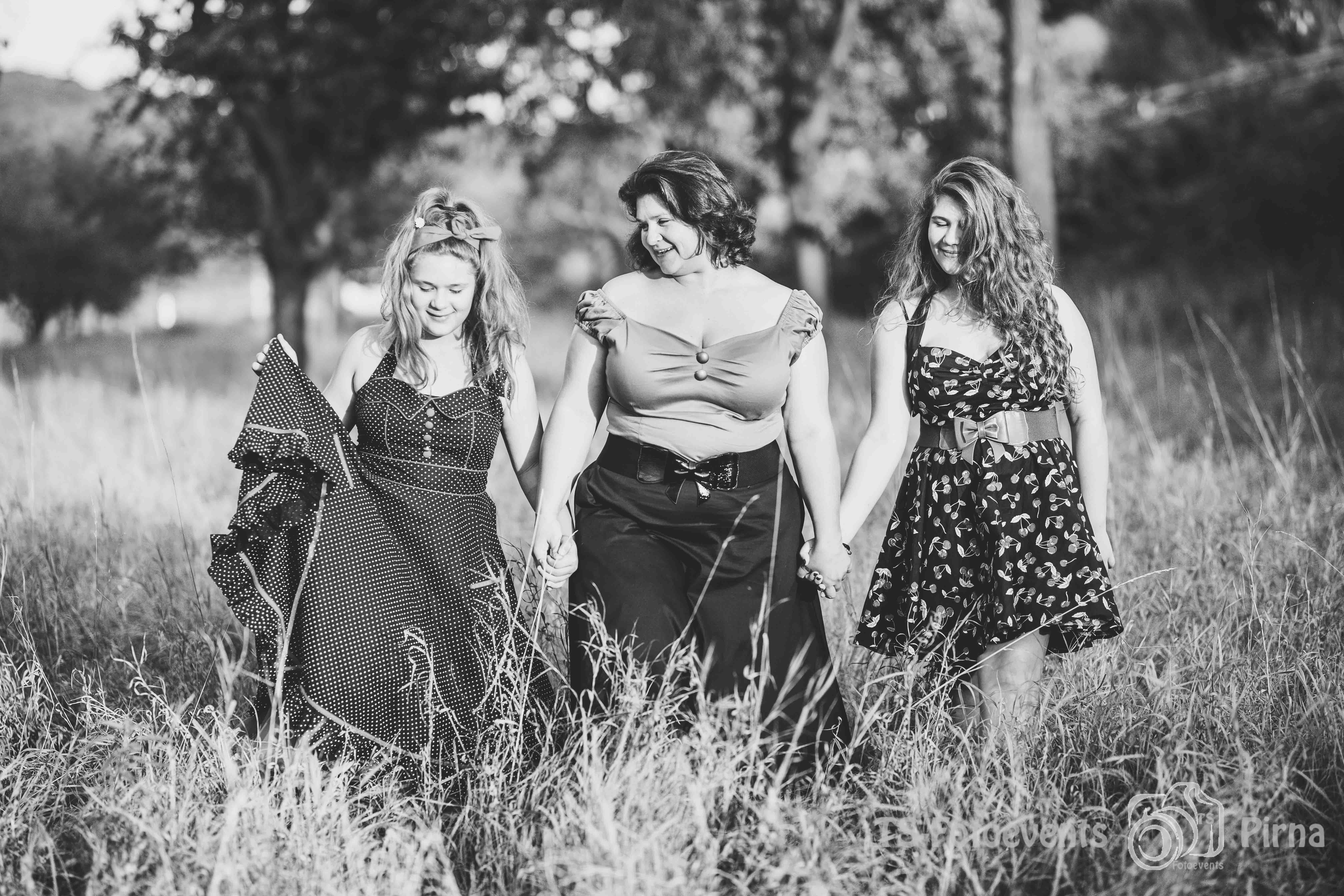 Familienshooting Mädels Spätsommer