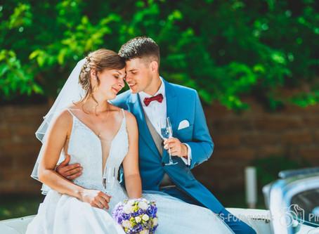Hochzeit mit Cabrio