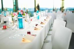 Hochzeitstafel im Schlosscafé Pirna