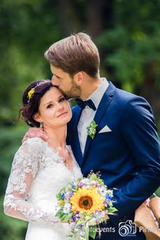 Brautpaar im Schlosspark Krobnitz
