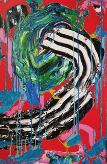 """Venus Flytraps And Desperate Housewives (36""""hx24""""w)"""