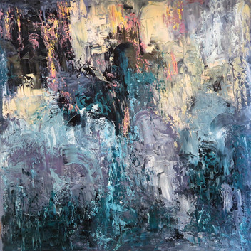 """In A Haze Of Copal Somewhere In Lisbon (I) (36""""x36"""")"""