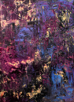 """Get Lost In The Streets One By One (40""""hx30""""w)"""