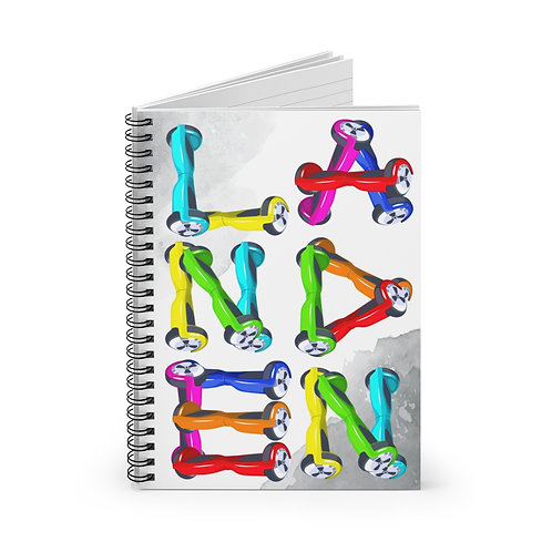 Hoverboard Name Personalized Journal