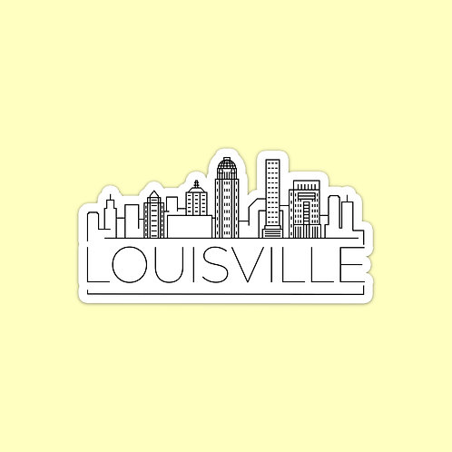 Louisville Skyline Sticker