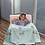 Thumbnail: Easter Blue Personalized Blanket