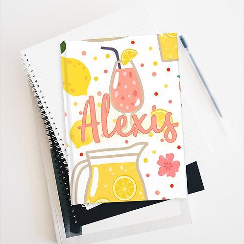 Strawberry Lemonade Personalized Journal