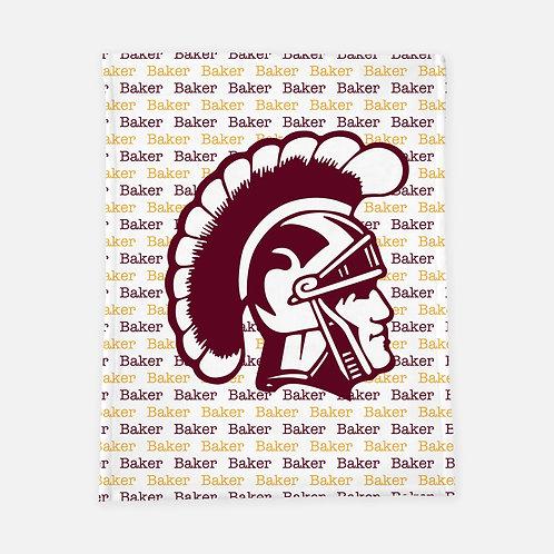 Trojan Head Personalized Blanket