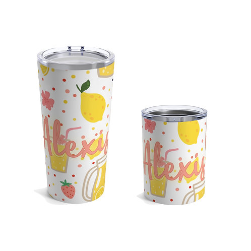 Strawberry Lemonade Personalized Tumbler
