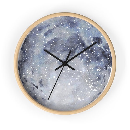 Harvest Moon Star Map Personalized Clock