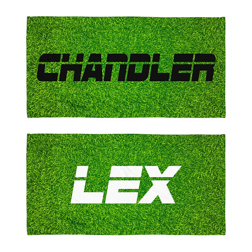 Turf Personalized Towel