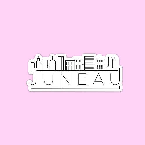 Juneau Skyline Sticker