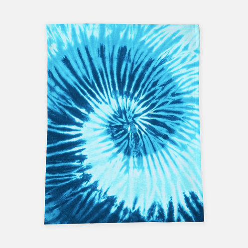 Waves Tie Dye Blanket