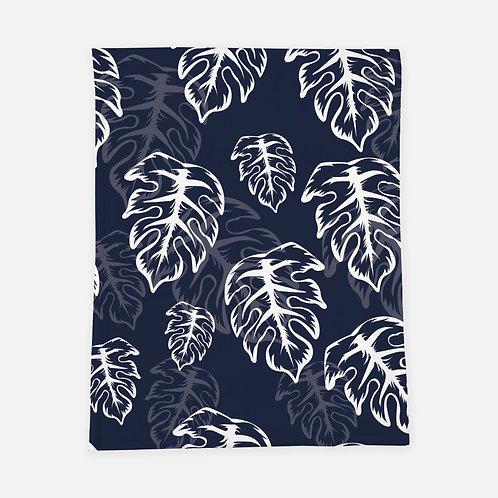 Blue Palm Blanket