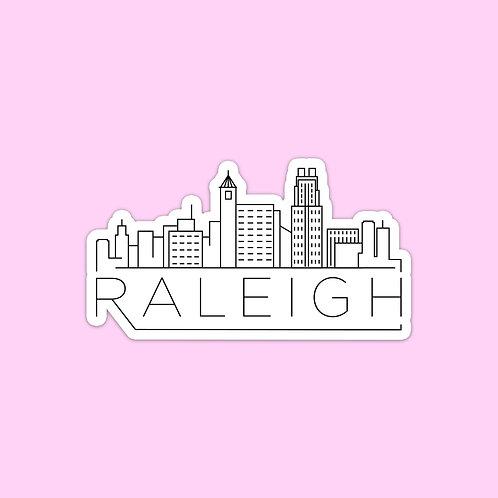 Raleigh Skyline Sticker