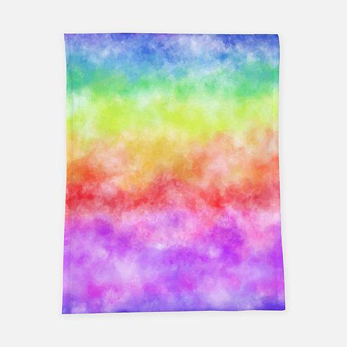 Bright Tie Dye Blanket