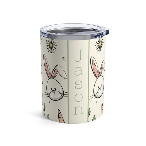 Easter Bunny Personalized 10oz Tumbler