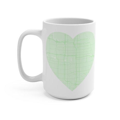 Mint Road Map Mug