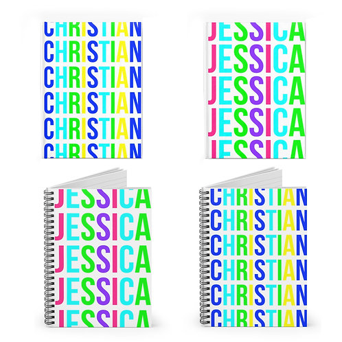 Bright Letters Personalized Journal