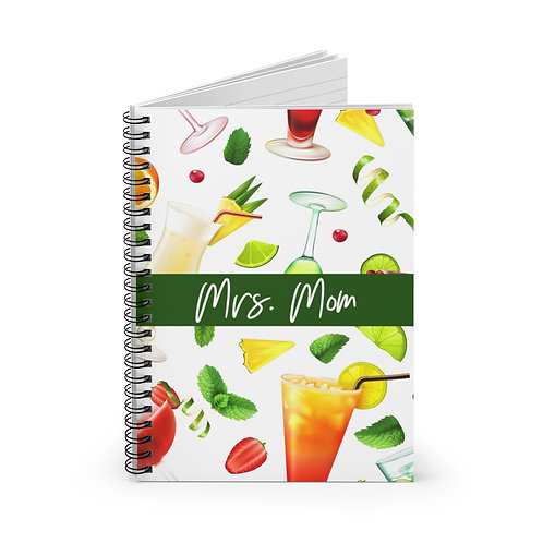 Drinks Personalized Journal