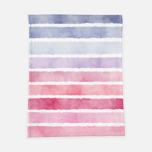 Pastel Stripes Blanket
