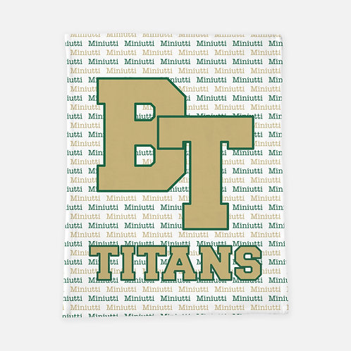 Blessed Trinity Personalized Blanket
