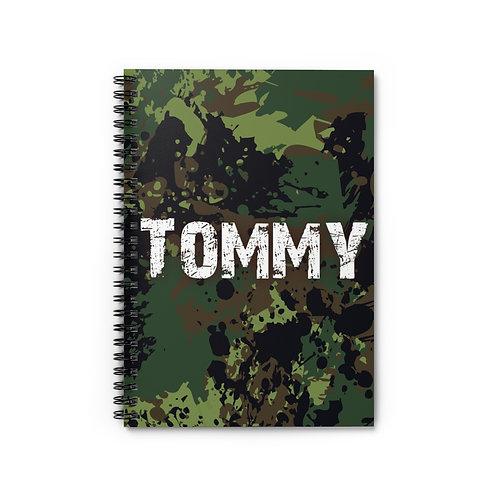 Camo Personalized Journal