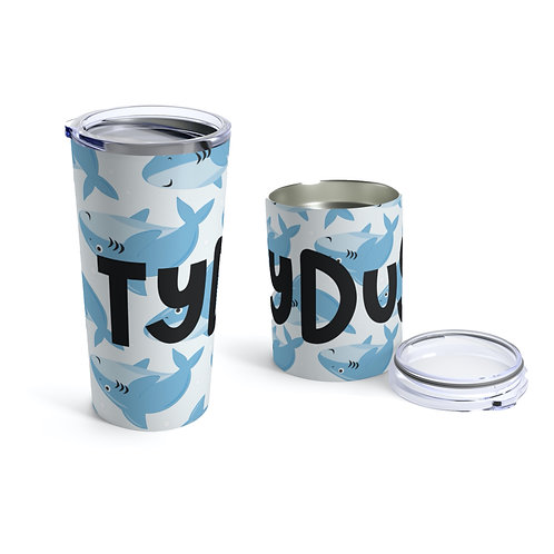Sharks Personalized Tumbler
