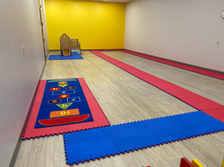 Large muscle activity room