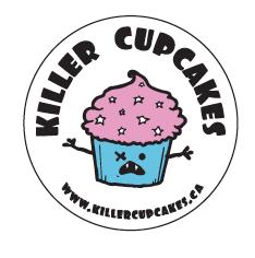 Riot Axe Friend - Killer Cupcakes