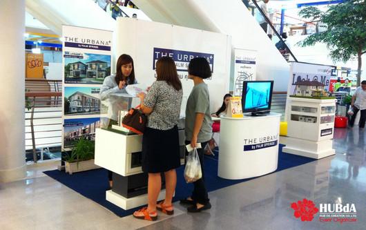 event organizer รับออกแบบบูท exhibition booth บ้านจัดสรร