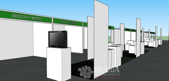 booth system ผังงานแสดงนิทรรศการ